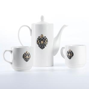 Чайный набор с серебром позолоченным 925 пробы арт. Отчизна ФУТ. 2ЧАШКИ,ЧАЙНИК Отчизна ФУТ. 2ЧАШКИ,ЧАЙНИК