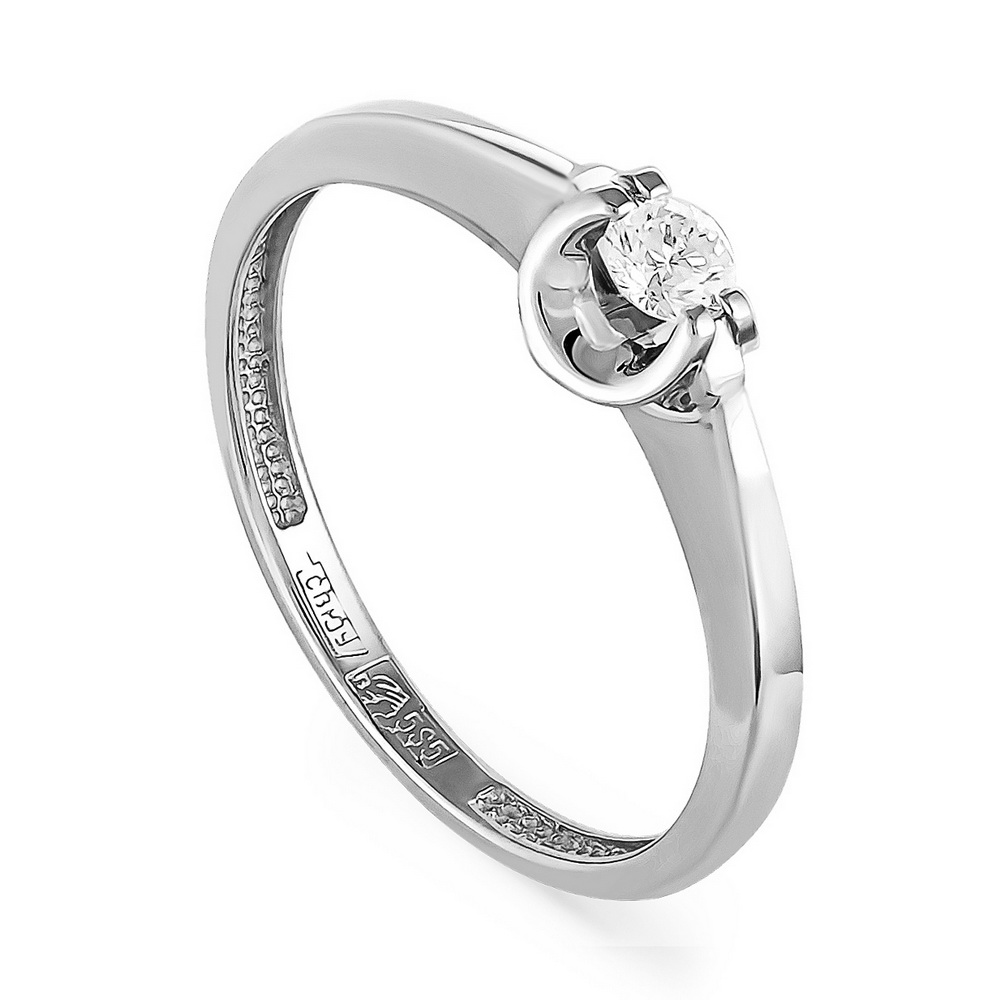 Кольцо из белого золота Бриллиант арт. 1-1328-1000 1-1328-1000
