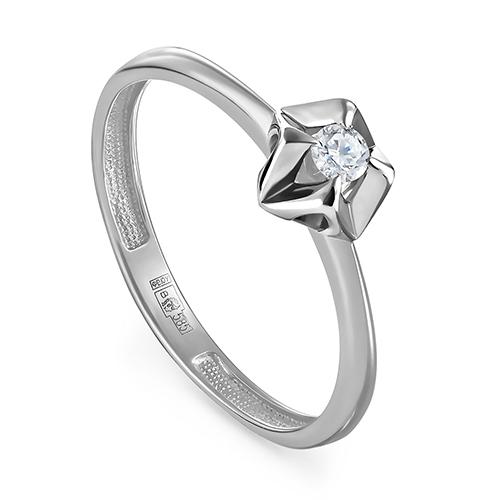 Кольцо из белого золота Бриллиант арт. 11-11277-1000 11-11277-1000