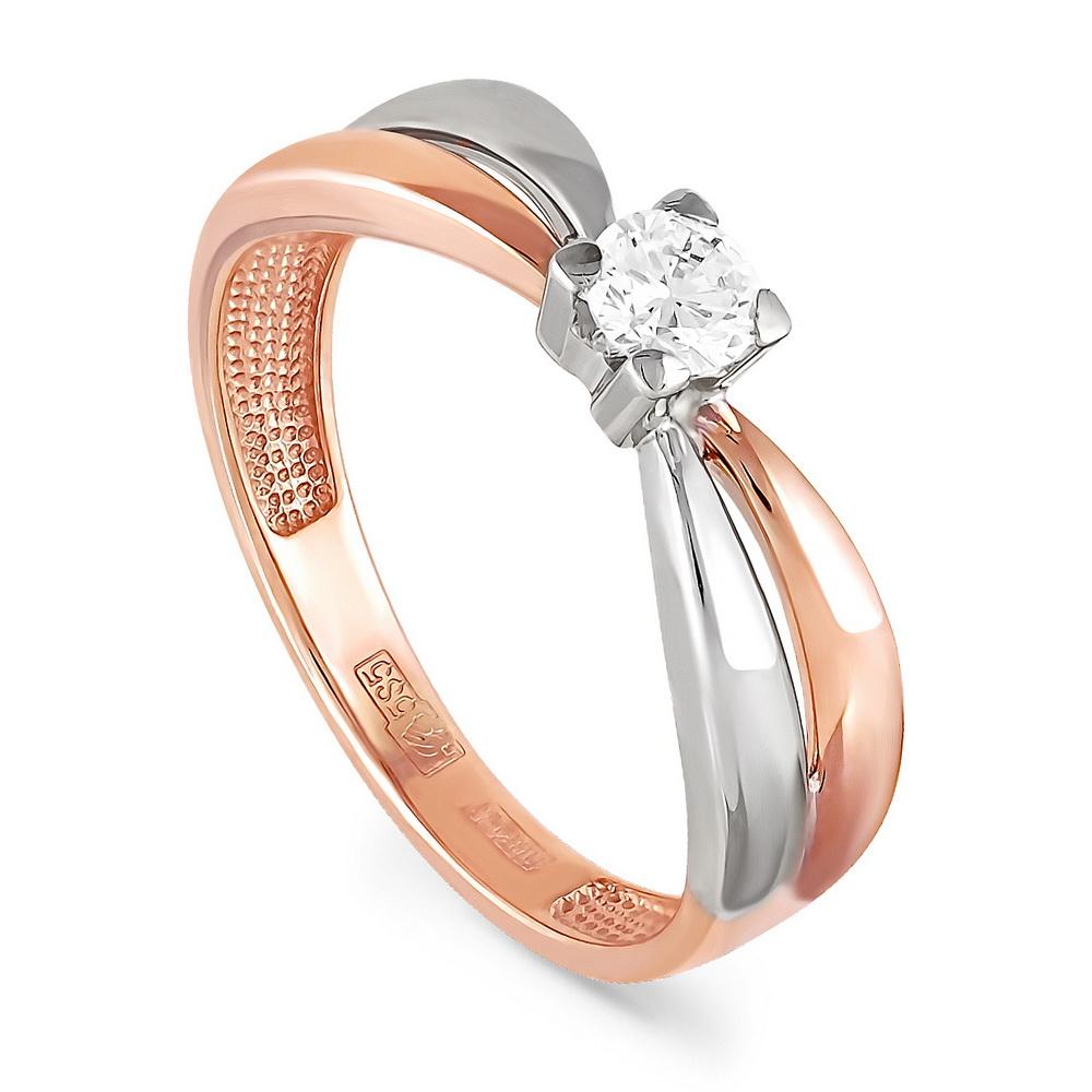 Золотое кольцо Бриллиант арт. 1-0273-1000 1-0273-1000