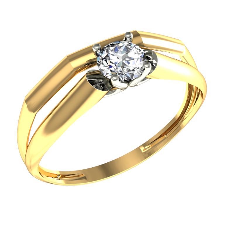 Золотое кольцо Фианит арт. 08-116505 08-116505