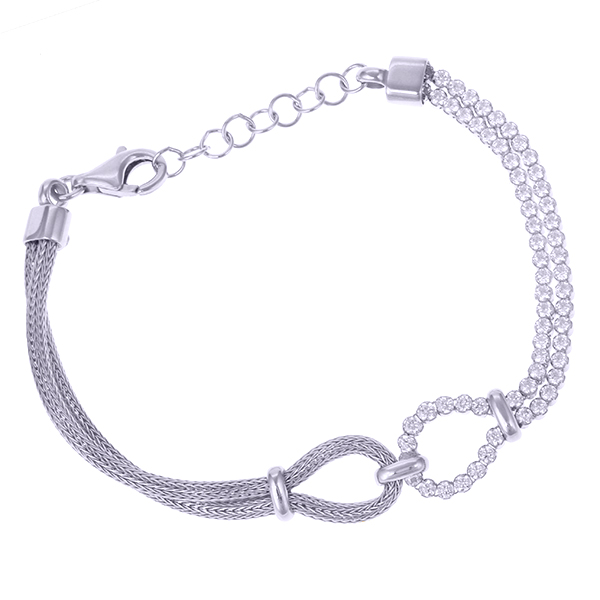 Серебряный браслет с цирконием арт. CBR4123-S CBR4123-S