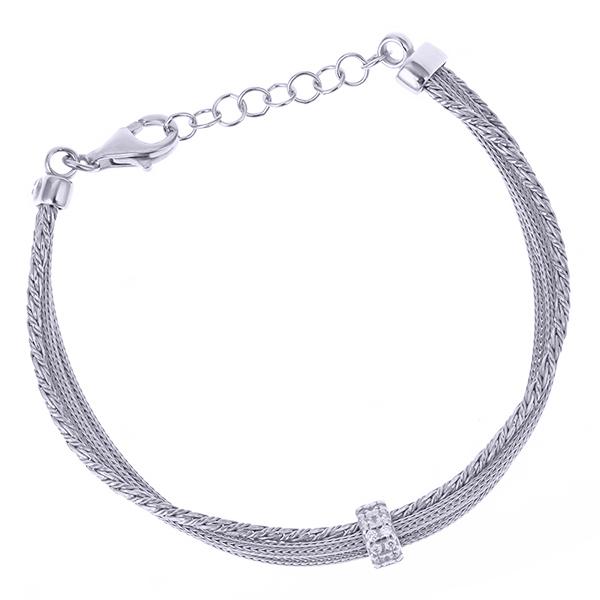 Серебряный браслет с цирконием арт. CBR5882-S CBR5882-S