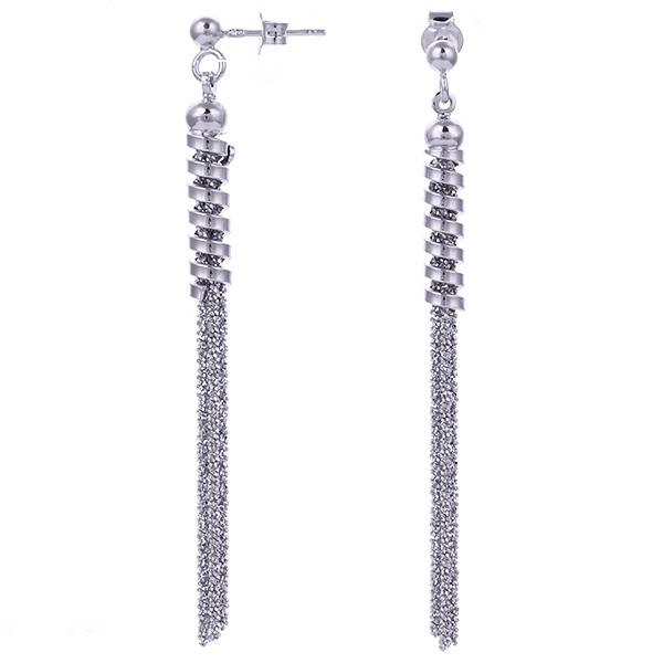 Серебряные серьги с родированием арт. OR1487-S OR1487-S