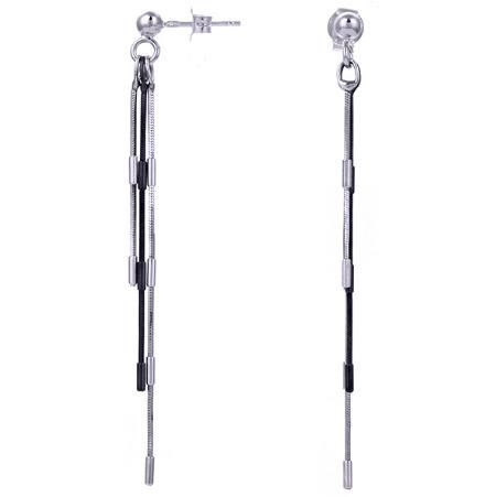 Серебряные серьги OR2177-BS