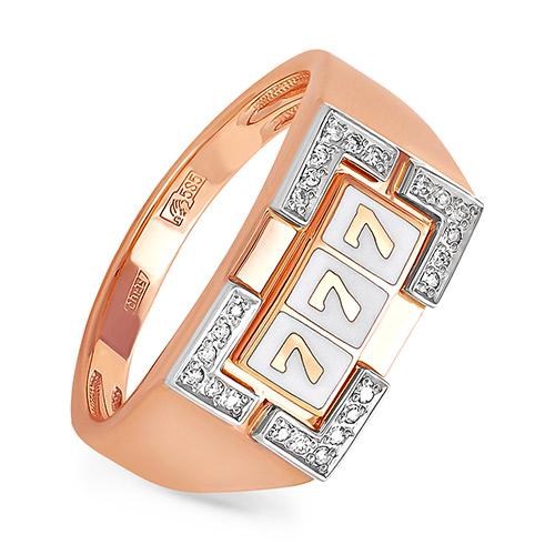 Золотое кольцо Бриллиант арт. 1-0208-1010 1-0208-1010