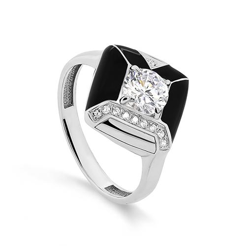 Серебряное кольцо Фианит арт. 11-335-7902 11-335-7902