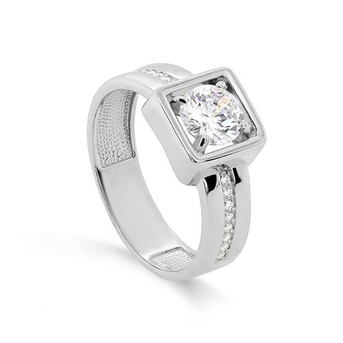 Серебряное кольцо Фианит арт. 11-341-7900 11-341-7900