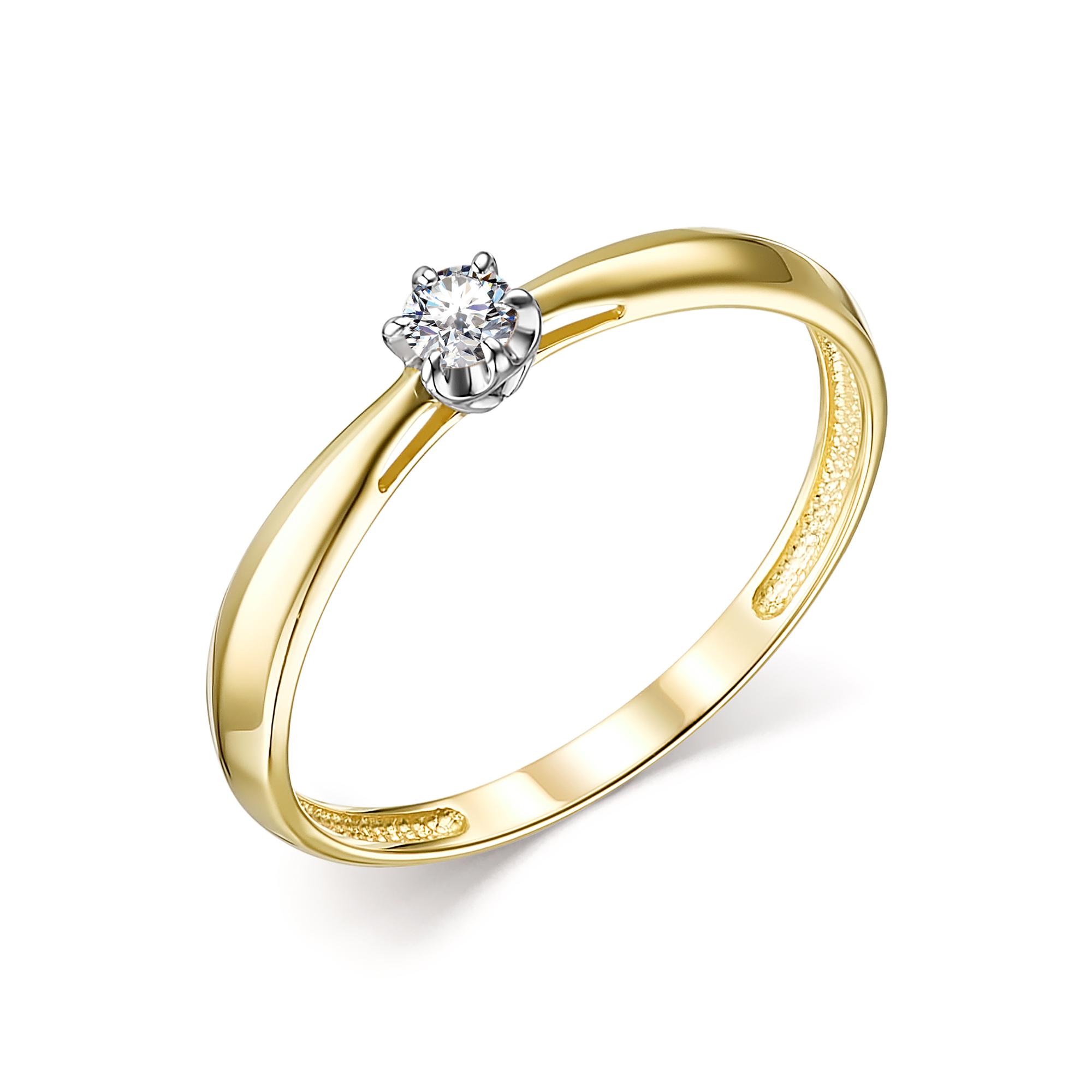 Кольцо из лимонного золота 13823-300