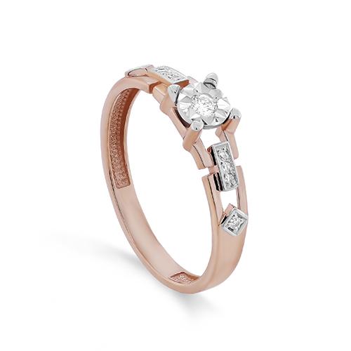 Золотое кольцо Бриллиант арт. 11-01395-1000 11-01395-1000