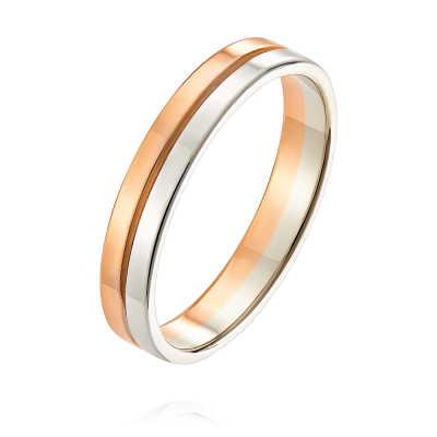 Обручальное кольцо из золота арт. 1231135-А501Д-01 1231135-А501Д-01
