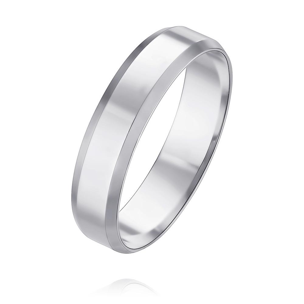 Обручальное кольцо из белого золота арт. 1235543-а51д-01 1235543-а51д-01