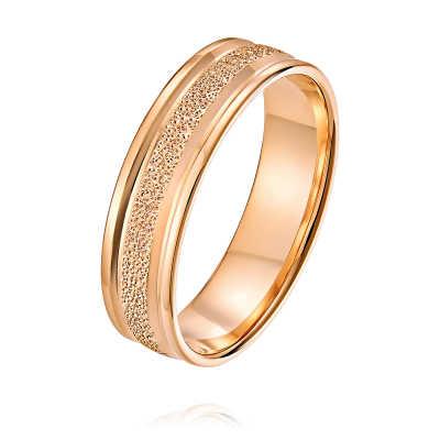 Обручальное кольцо из золота арт. 1236008-А50Ф-01 1236008-А50Ф-01
