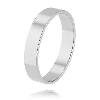 Обручальное кольцо из белого золота арт. 1230140-А51Д-01 1230140-А51Д-01