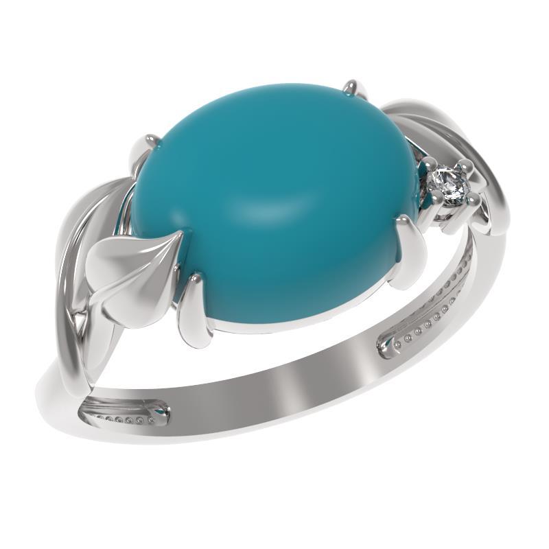 Серебряное кольцо 1035291-01110-б