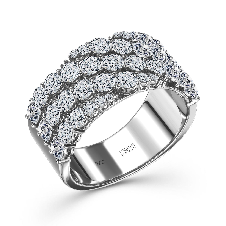 Кольцо из белого золота Бриллиант арт. 0e821h21s 0e821h21s