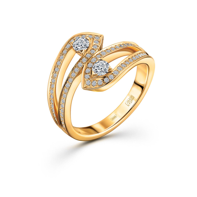 Золотое кольцо Бриллиант арт. 0h035123s 0h035123s