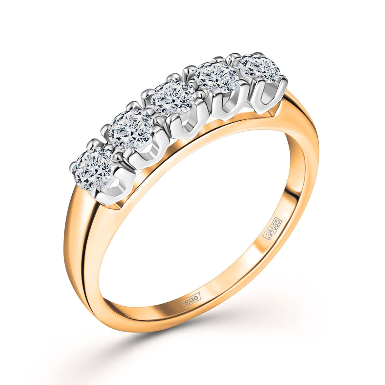 Золотое кольцо Бриллиант арт. 0c058125s 0c058125s