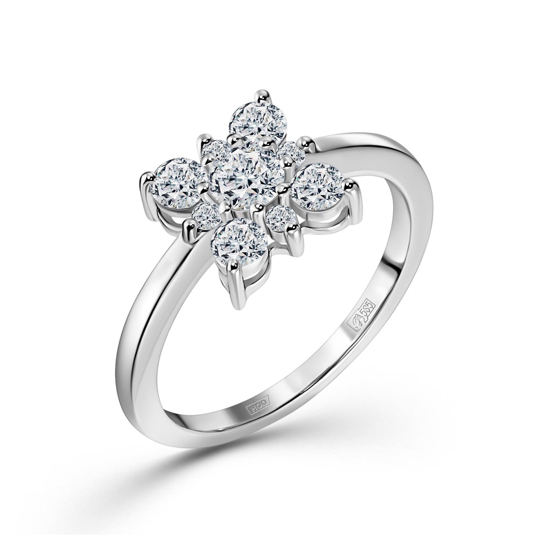 Кольцо из белого золота Бриллиант арт. 0e577121s 0e577121s