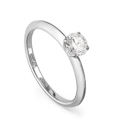 Кольцо из белого золота Бриллиант арт. 11-11069-1000 11-11069-1000