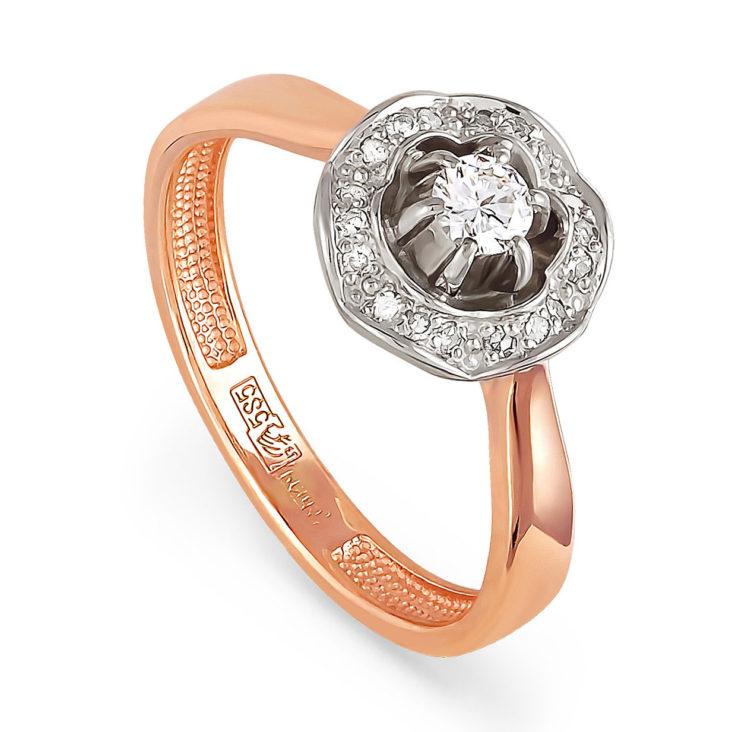 Золотое кольцо Бриллиант арт. 11-0783 11-0783