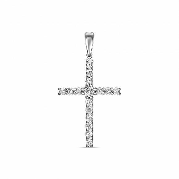 Подвес крест арт. j01-pl-33587-w j01-pl-33587-w