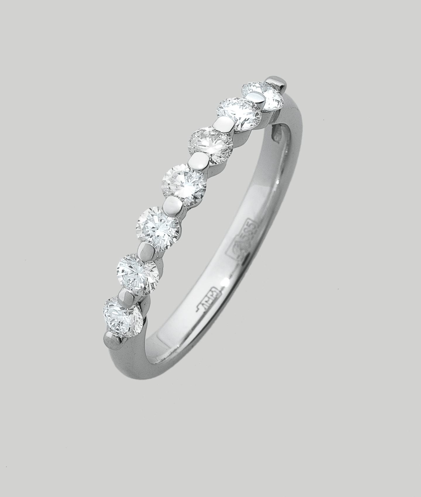 Кольцо из белого золота Бриллиант арт. 76091 76091