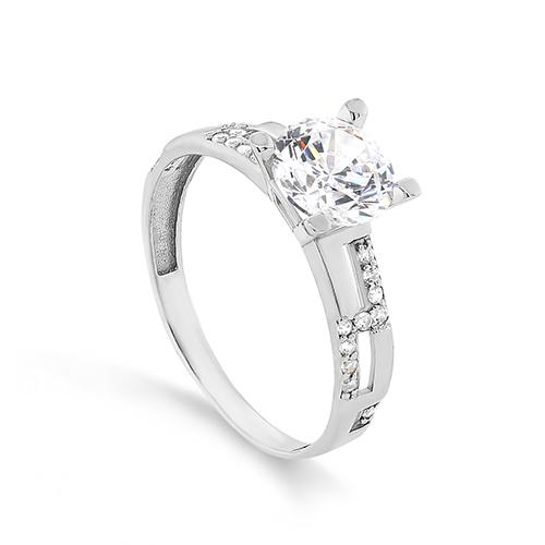Серебряное кольцо Фианит арт. 1-076-7900 1-076-7900