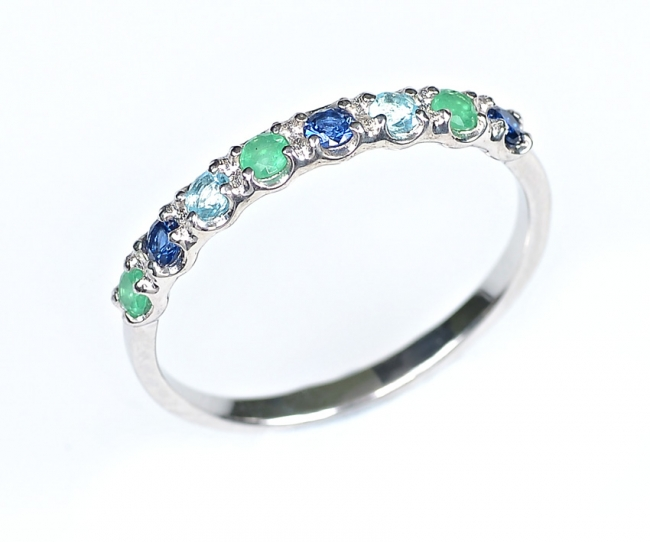 Серебряное кольцо с47-154кфс-19