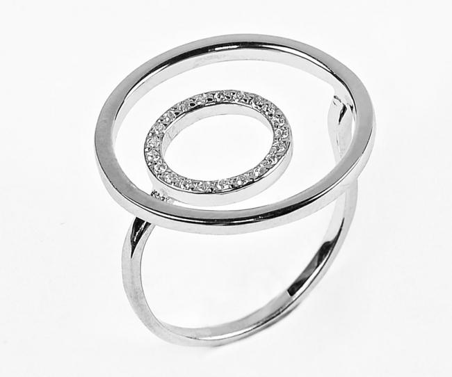 Серебряное кольцо с50-12441кф-17.5
