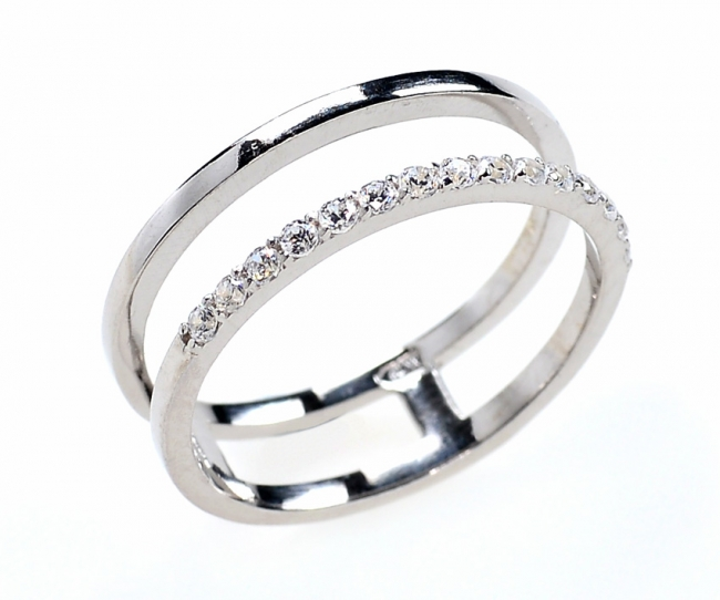 Серебряное кольцо с50-1326кф-18.5