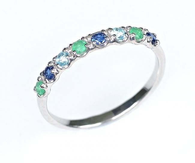 Серебряное кольцо с47-154кфс-16.5