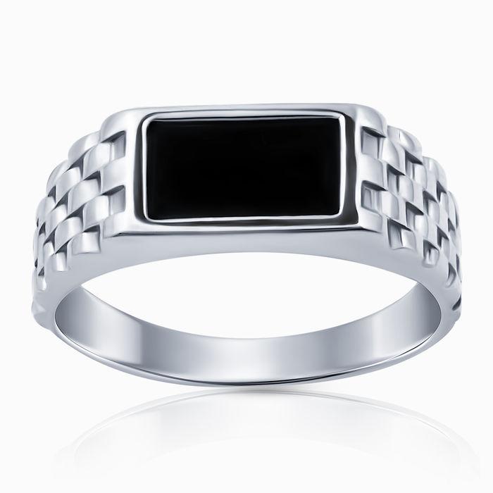 Серебряное кольцо Оникс арт. 47237 47237