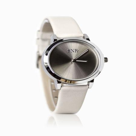 Женские часы с эбонитом и ювелирным стеклом арт. 48114 48114
