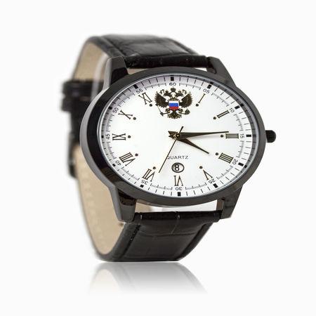 Женские часы с эбонитом и ювелирным стеклом арт. 48708 48708