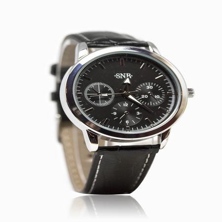 Женские часы с эбонитом и ювелирным стеклом арт. 48696 48696