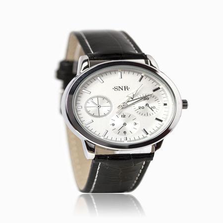 Женские часы с эбонитом и ювелирным стеклом арт. 48701 48701