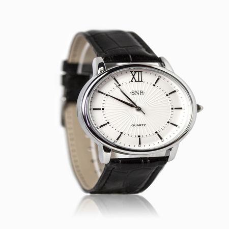 Женские часы с эбонитом и ювелирным стеклом арт. 47698 47698