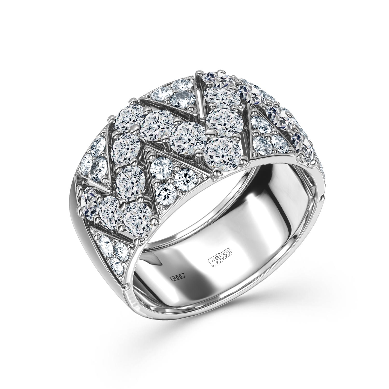 Кольцо из белого золота Бриллиант арт. 0e801e21s 0e801e21s