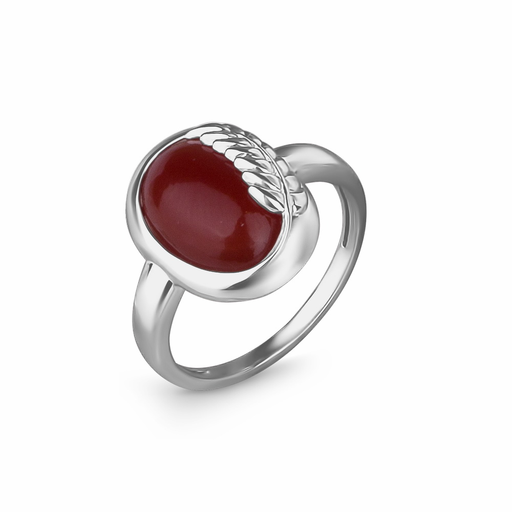 Серебряное кольцо 42100079