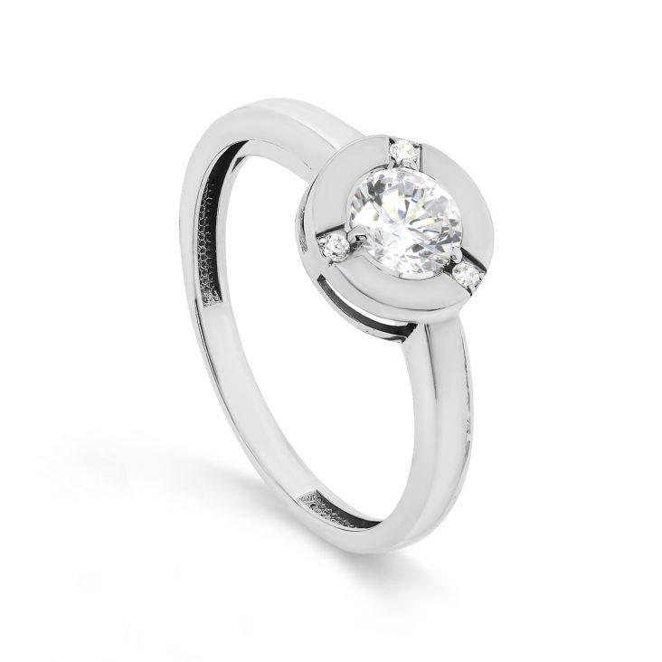 Кольцо из белого золота 11-11421-20000