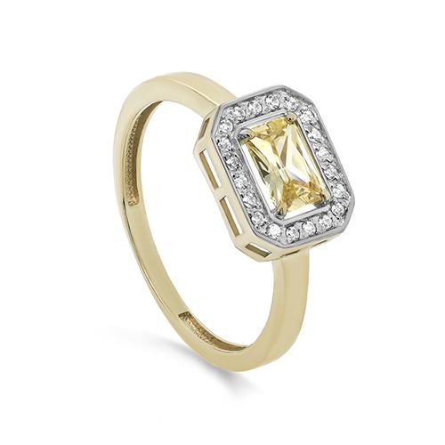 Кольцо из лимонного золота 11-21428-20600
