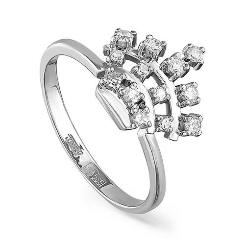 Кольцо из белого золота 11-11022-1000