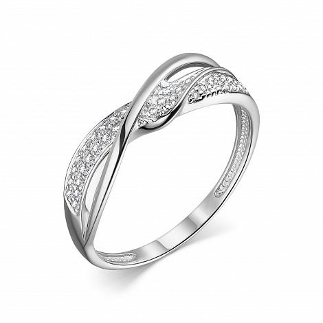 Кольцо из белого золота 13867-200