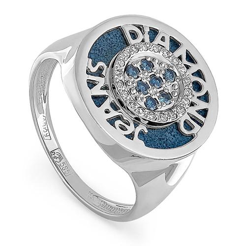 Кольцо из белого золота 11-1437-2703