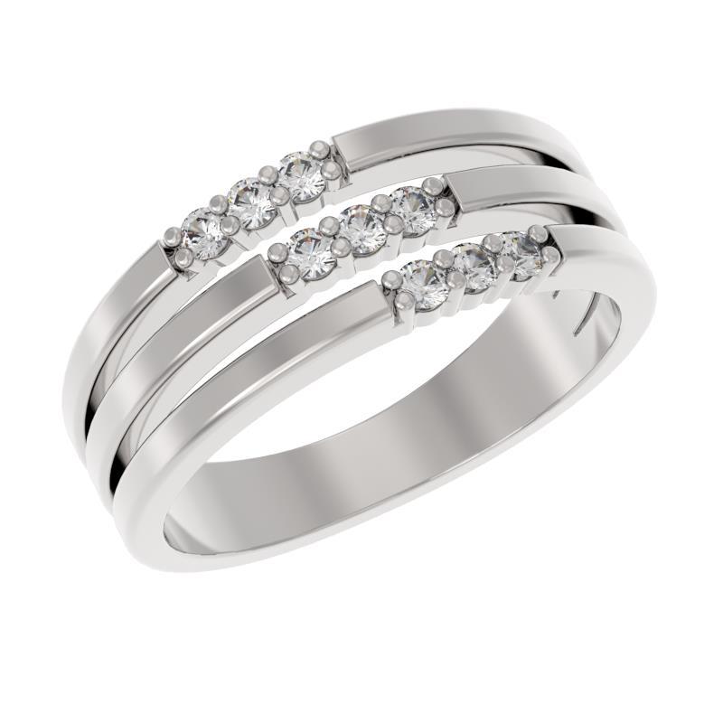 Серебряное кольцо 1039901-01110