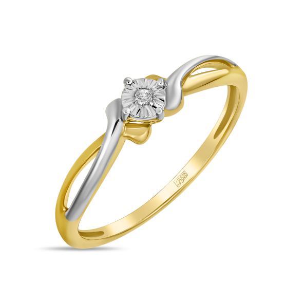 Золотое кольцо r01-d-l-pl-34964
