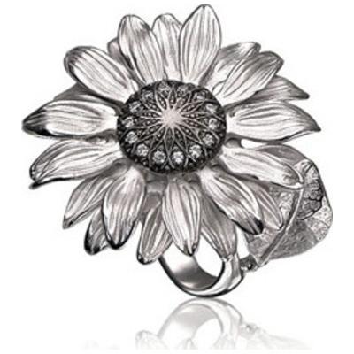 Серебряное кольцо К-15002