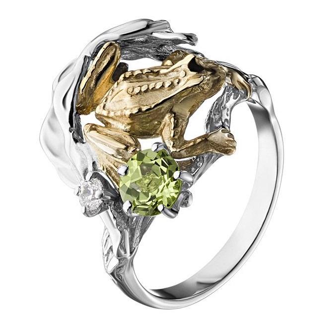 Серебряное кольцо К-25052
