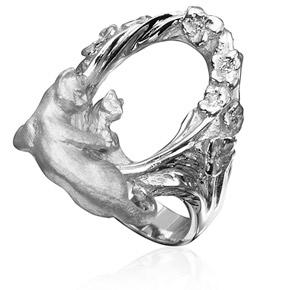 Серебряное кольцо К-25010